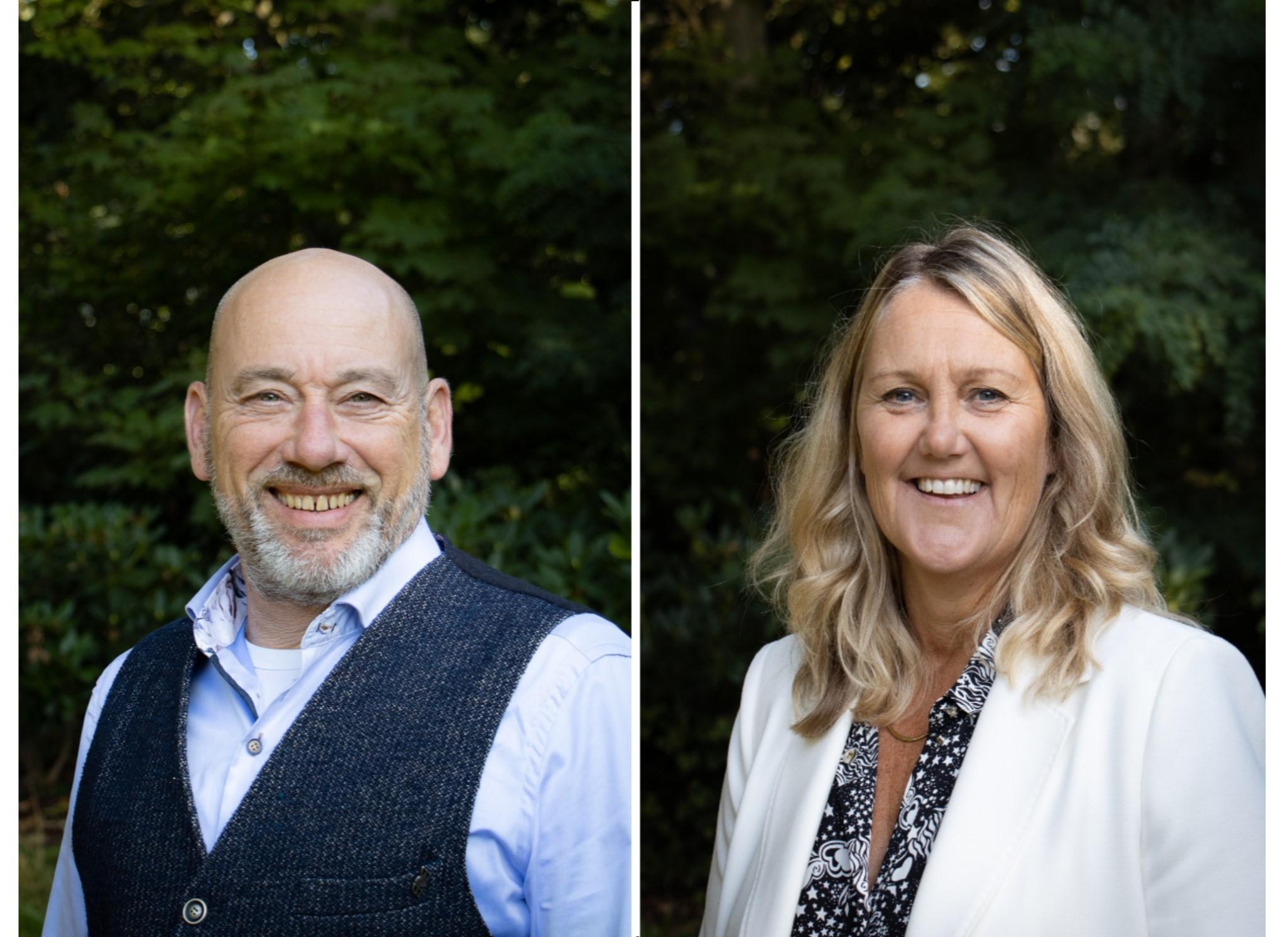 Onze collega's Hilda en Peter participeren in de gemeente Noordwijk